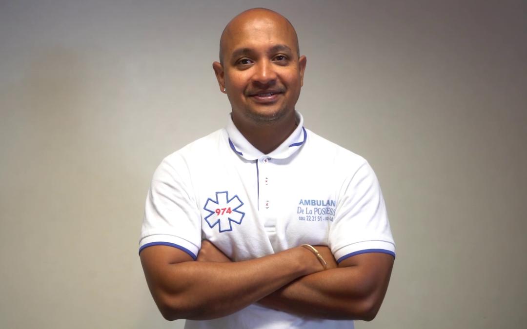 RENCONTRE avec Michael PALAMA – Ambulancier des patients de l'Aurar