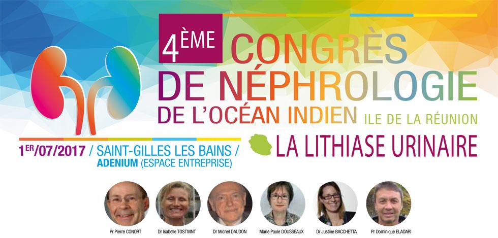 Juillet 2017, 4ème Congrès de néphrologie