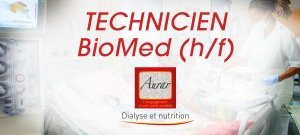 Recrutement : TECHNICIEN(NE) BioMed (H/F)