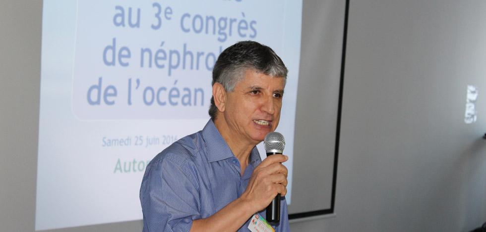 Juin 2016, 3ème Congrès de Néphrologie de l'océan Indien