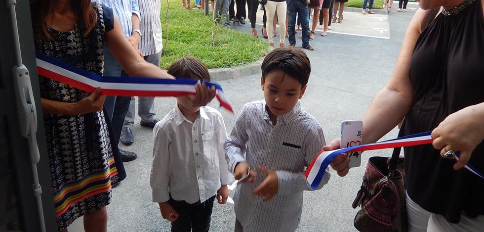 Inauguration du « Quartier AURAR ».