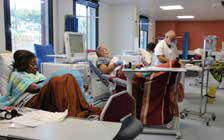 La nouvelle unité d'auto-dialyse (UAD) accueille une quarantaine de patients.