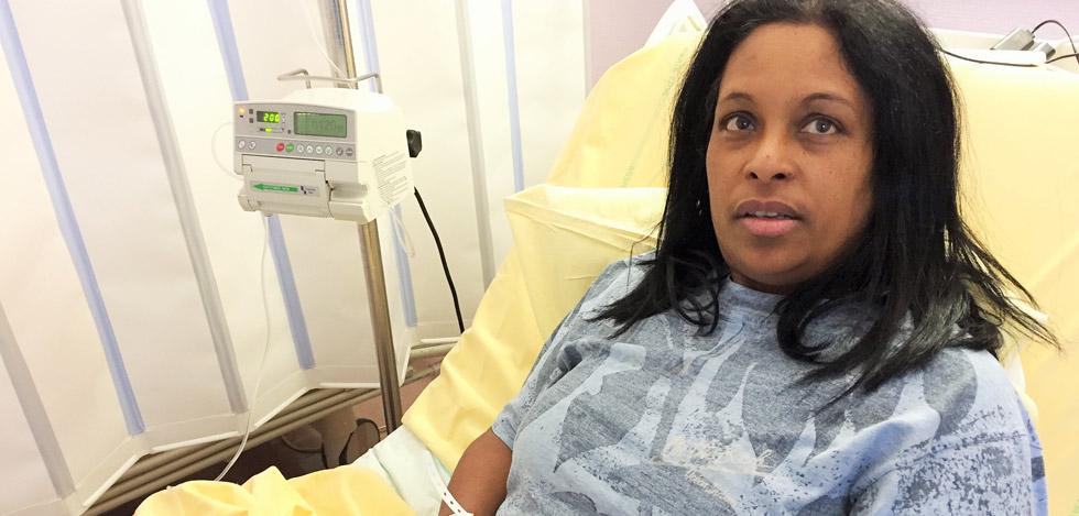 Marie-Michelle Payet : « Je suis confiante pour la greffe rénale »