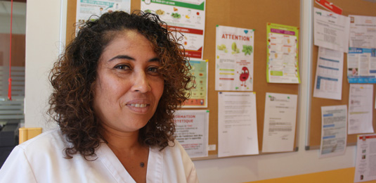Les métiers de l'Aurar : Sandrine Padavatan, diététicienne en dialyse