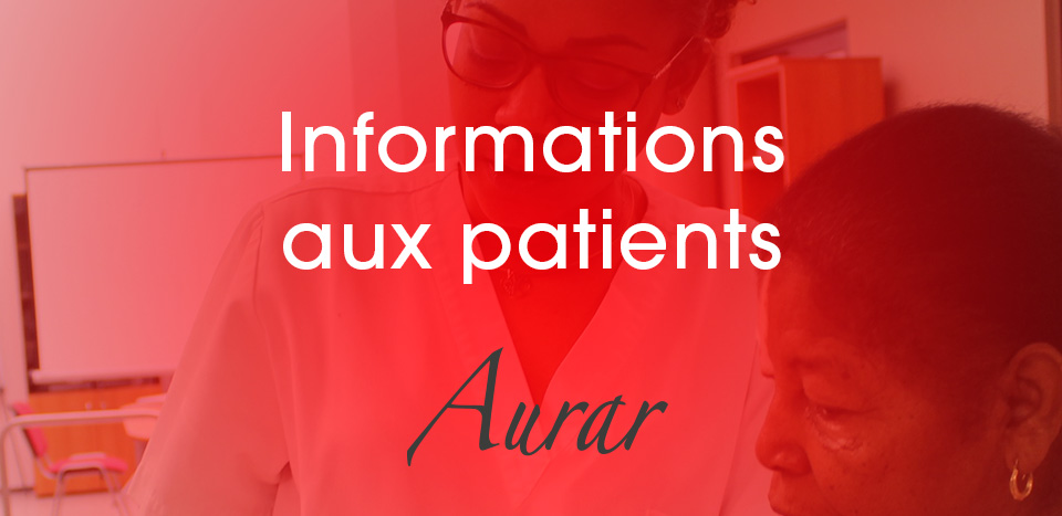 16 mars – Informations aux patients