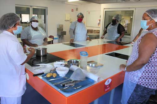 Clinique Oméga reprise progressive Atelier-cuisine
