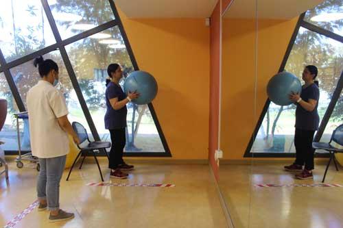 Clinique Oméga reprise progressive Atelier-physique