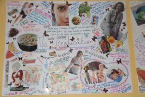 Exposition ouevre d'art clinique Omega