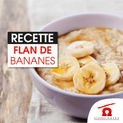 Flan de bananes