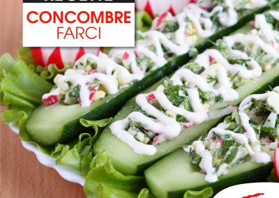 Concombre Farci